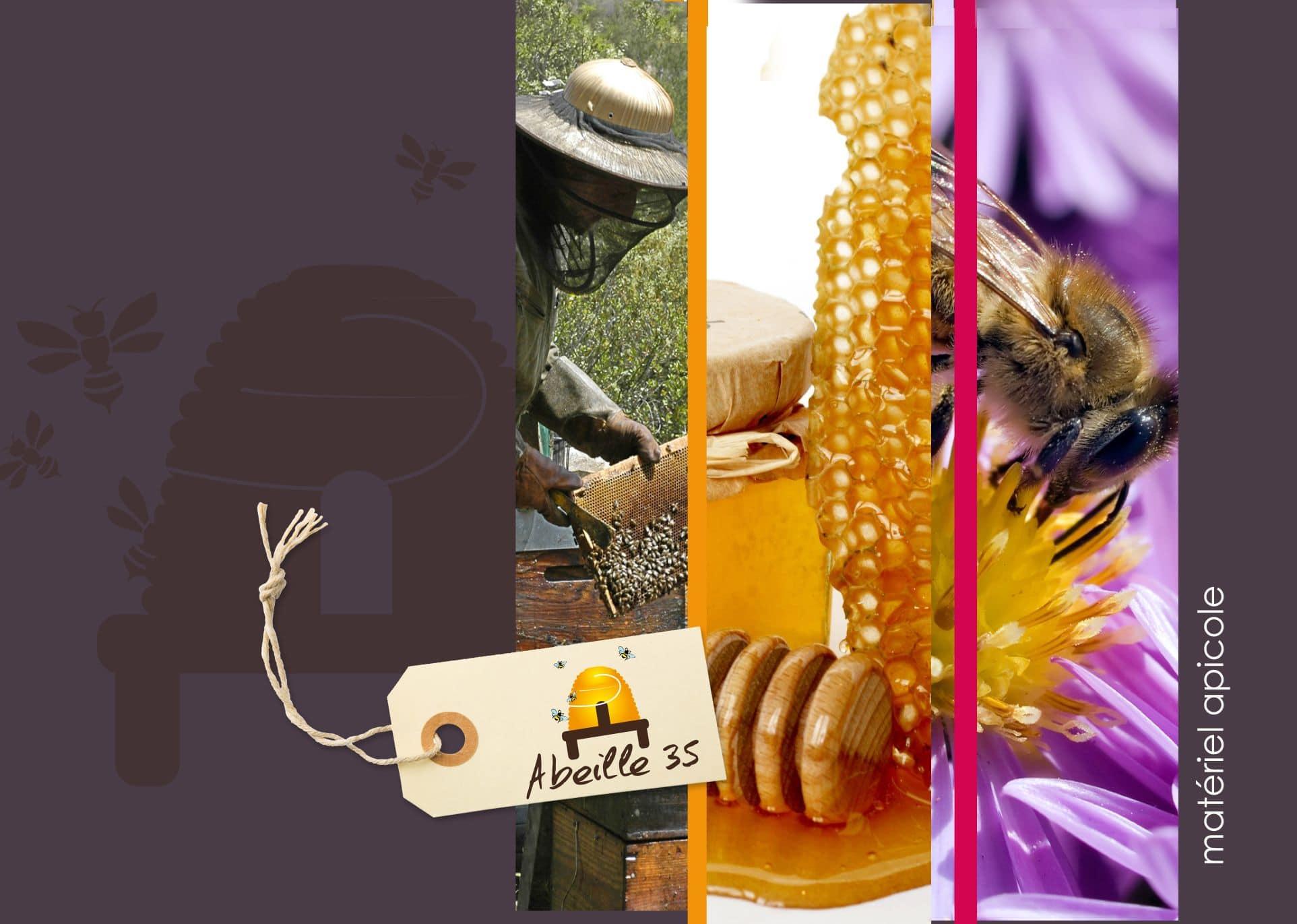 matériel apiculture, miel, pain d'épices